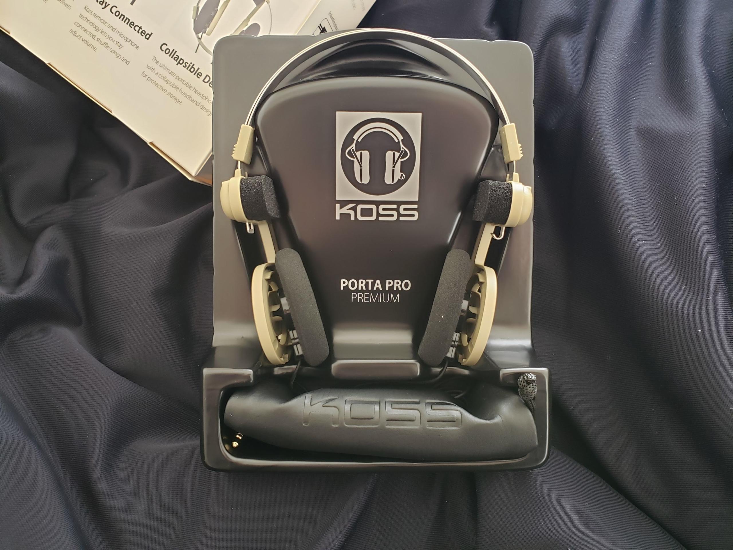【KOSS Porta Pro】最高のヘッドホンだった